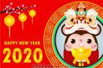 Chia Sẻ Vector background Chuột Chúc Tết 2020 Miễn Phí