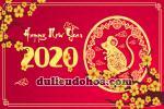 Download Vector Tết 2020, Vector Tết Canh Tý 2020 Miễn phí