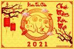 Chia sẻ PSD tết, năm mới 2021 - Psd chào xuân Tân Sửu tải free