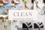 Chia sẻ Preset Lightroom Clean trắng sáng tối giản cho Desktop