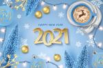 Download vector chúc mừng năm mới 2021