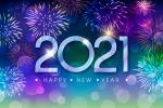 Miễn phí vector background phông nền pháo hoa năm mới 2021