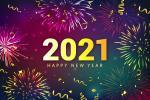 Mẫu vector nền năm mới 2021 AI tải miễn phí