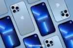 Download miễn phí PSD Mockup iPhone 13 Pro Max mới nhất