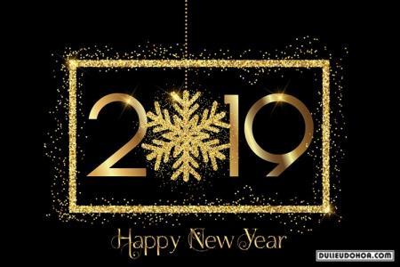 Chia sẻ vector trang trí happy new year 2019