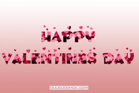 Share PNG Happy Valentine Day trái tim tình yêu lãng mạn