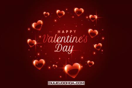 Vector, background valentine trái tim tình yêu đẹp lãng mạn
