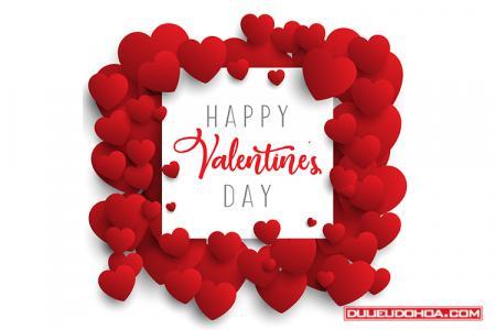 Share vector background trái tim tình yêu đẹp độc đáo