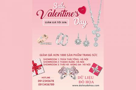 Mời tải về PSD banner quảng cáo, giảm giá cho Valentine 2019