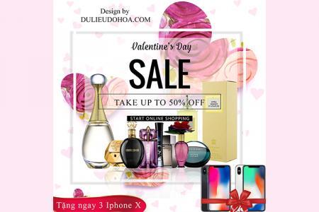 Download banner quảng cáo, khuyến mãi Valentine chất lượng nhất cho facebook