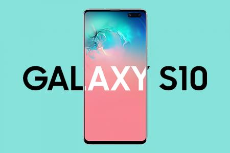 Free download PSD Mockup Samsung Galaxy S10 Plus- Mẫu 1