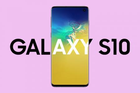 Miễn phí tải PSD Mockup Samsung Galaxy S10 chuẩn đẹp