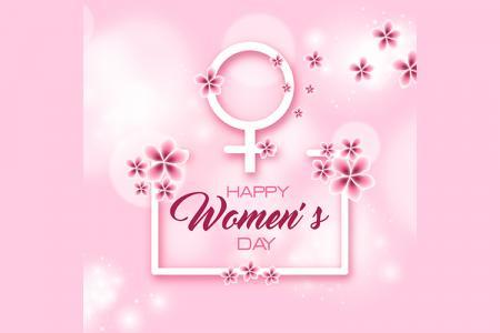 Vector 8/3 - Mẫu Vector ngày quốc tế phụ nữ 2019 tải miễn phí