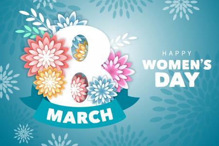 Free download vector ngày Quốc tế phụ nữ 8-3