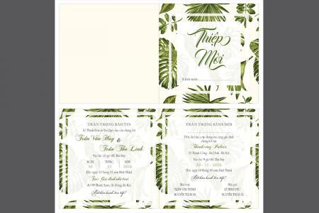 Download vector thiệp cưới đẹp và lịch sự cho designer