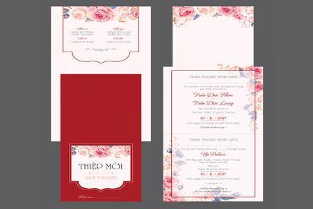 Share thiết kế thiệp cưới đẹp, sang trọng mới nhất 2020