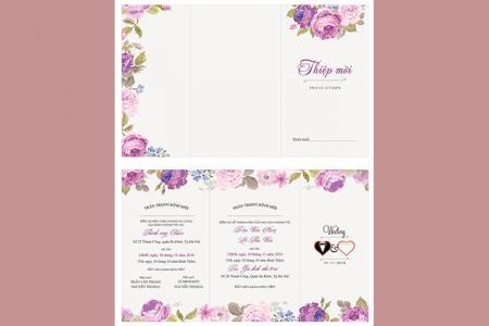Free vector cưới họa tiết hoa đẹp, độc đáo được yêu thích nhất
