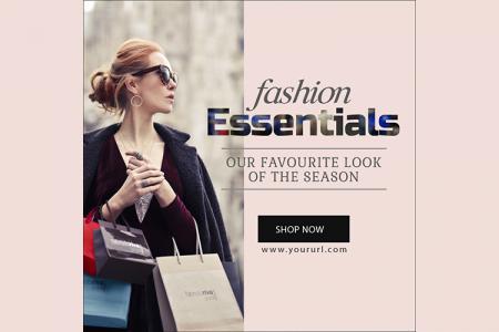 Download banner quảng cáo thời trang đẹp cho Marketing online- Mẫu 5