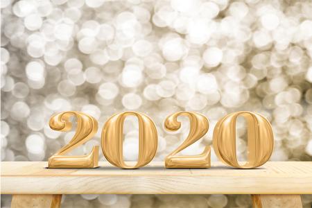 Free Banner Background Năm Mới 2020 Đẹp Cho Designer