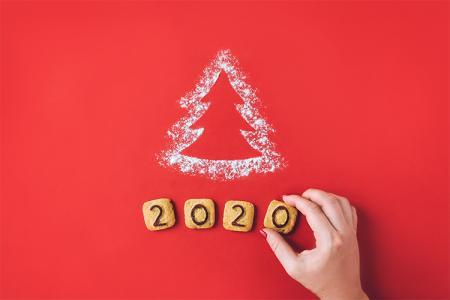 Tải banner background giáng sinh và năm mới 2020