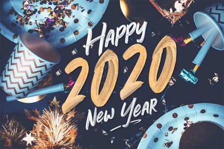 Chia Sẻ Background Năm Mới 2020 Độc Đáo Ấn Tượng