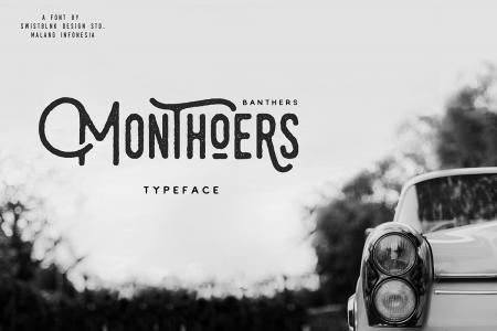 Font Chữ  Monthoers Typeface  Việt Hóa - Download Font Chữ Miễn Phí