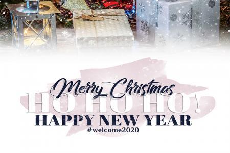 PSD Giáng sinh và năm mới 2020 đẹp miễn phí