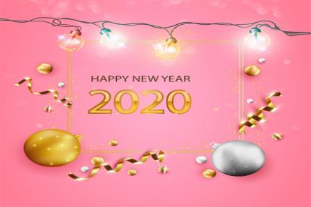 Download Vector Banner Chúc Mừng Năm Mới 2020  AI