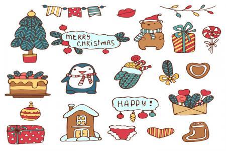 Trang Trí Giáng Sinh, Vector Biểu Tượng Giáng Sinh Đẹp Nhất