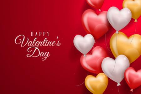 Download vector valentine đẹp 2020 miễn phí