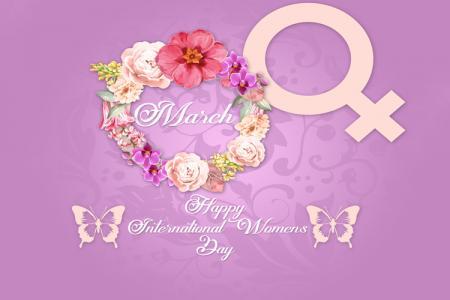 PSD chúc mừng ngày quốc tế phụ nữ 8-3 đẹp miễn phí