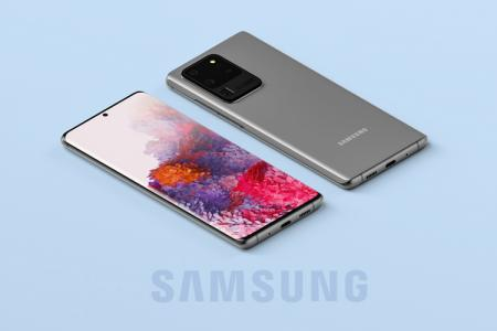 PSD mockup Samsung S20 Ultra đẹp miễn phí