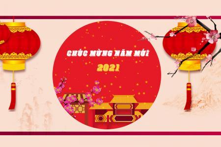 Cover Tết 2021 PSD - Ảnh bìa facebook Tết 2021 PSD đẹp ấn tượng