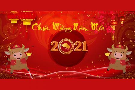 Share PSD banner, background nền chúc mừng năm mới 2021 cực chất