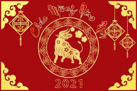 Share banner, background chúc mừng năm mới 2021 PSD