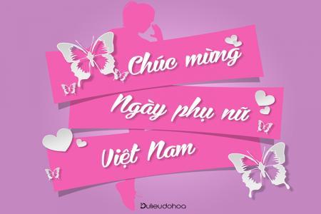 PSD nền kỷ niệm ngày Phụ nữ Việt Nam 20-10