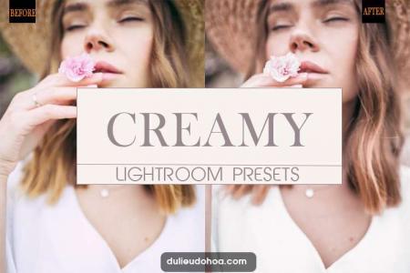 Chia sẻ Preset Lightroom Creamy Pastel đẹp (Desktop)