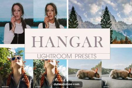 Tải Preset Lightroom Hangar tone nâu ấm (Desktop)