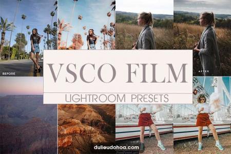 Bộ Preset Lightroom VSCO ảnh màu film đẹp miễn phí (Desktop)