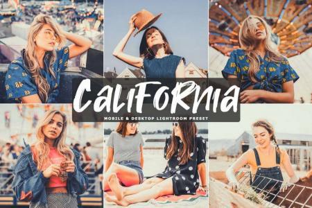 Share bộ Preset California tone màu hoàng hôn tuyệt đẹp (Mobile)