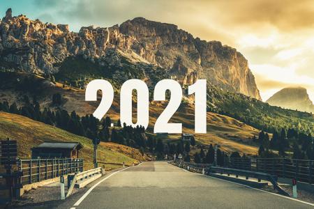 Tải hình ảnh thiên nhiên chúc mừng năm mới 2021 Full HD