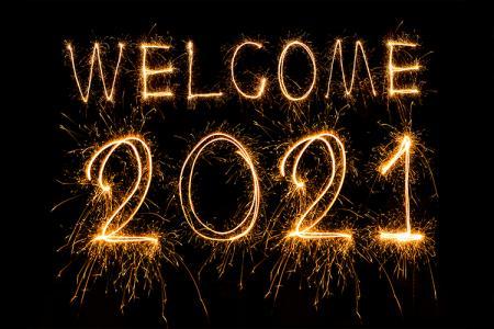 Tải background nền pháo hoa chúc mừng năm mới 2021