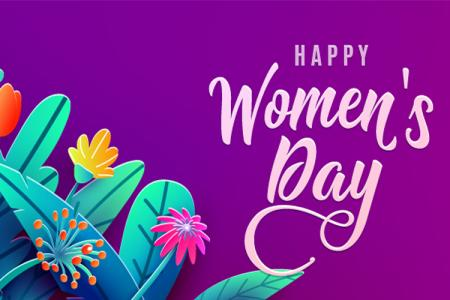 Vector background 8/3 Women's Day đẹp miễn phí