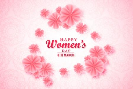 Share vector background nền 8/3 Womens Day đẹp