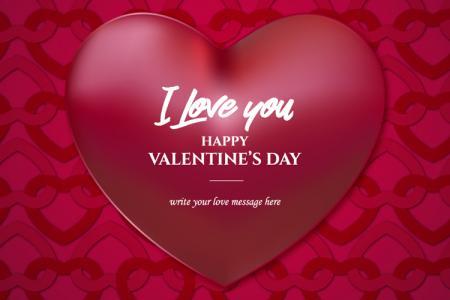 Tải background phông nền ngày Valentine 14/02 vector