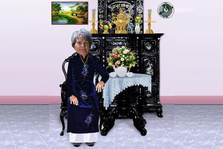 Chia sẻ PSD ghép ảnh bàn trà cho bà