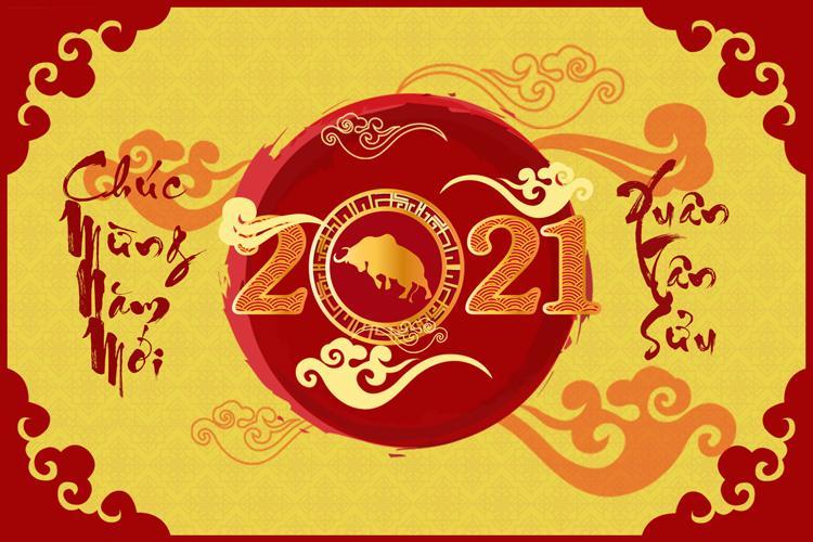 Chúc Mừng Năm Mới 2021 đẹp